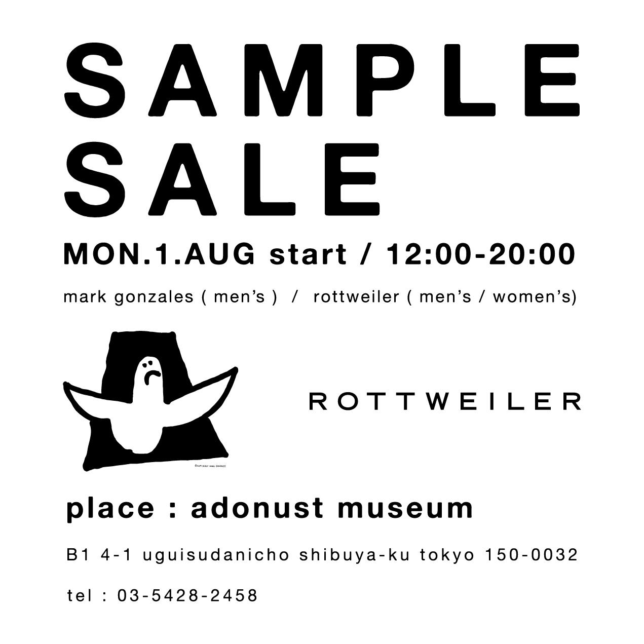 adonust 16ss sample sale 1