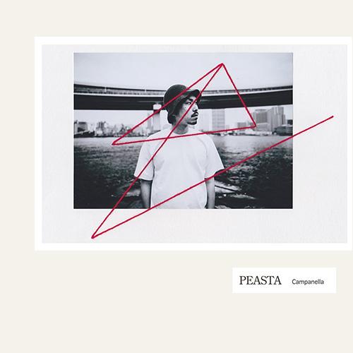 Campanella『PEASTA』 10代から共に育ってきた同郷の先鋭的なビートメイカーRamza、Free Babyroniaとがっちり組んだ2年ぶりのセカンド作。全11曲に凝縮された日常のドラマチックな描写とサウンドの革新性は、ヒップホップ・リスナーのみに留まらず、幅広くアピールするはず。