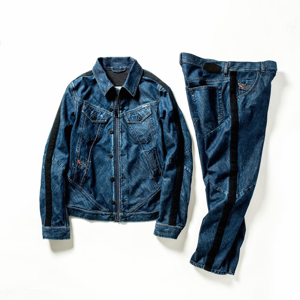 ジャケット 49,000円 + 税、パンツ 35,000円 + 税  →商品の詳細を見る