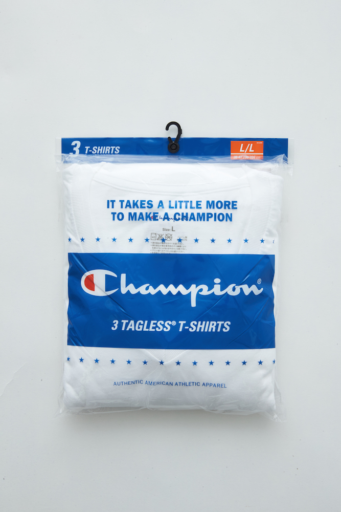 Champion パックT(3枚入り) 2,500円 + 税