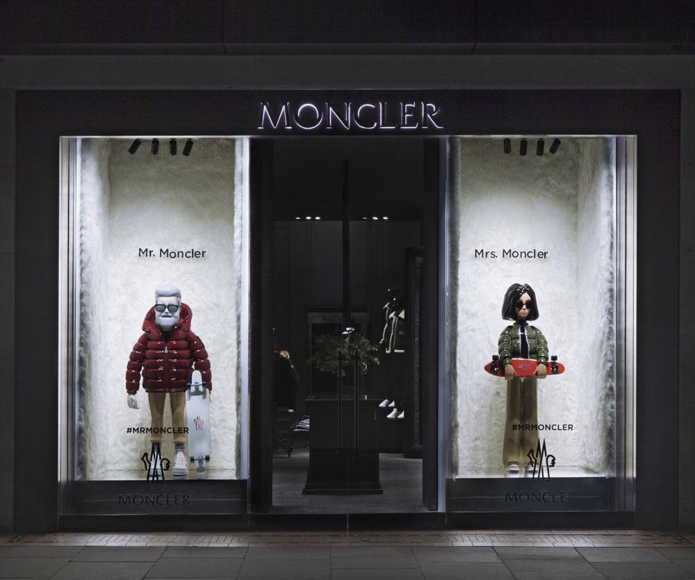 MR.&MRS MONCLER_Boutique London Sloane Street_Sept 2016