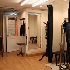 試着室も完備した、 ゆったりとしたスペース。