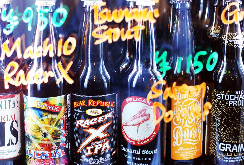 思わずラベル買いしたくなるビールの数々。