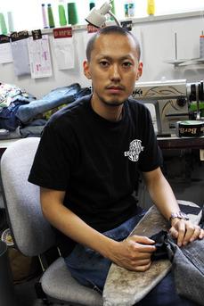 店長の石井氏。 ヴィンテージモノはおまかせあれ!