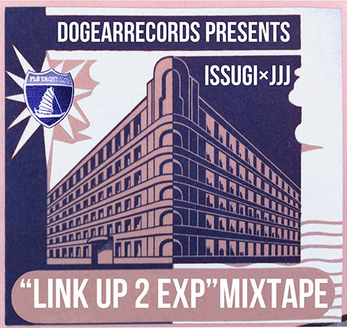 ISSUGI x JJJ『LINK UP 2 EXPERIMENT』 Fla$hBackSのビートメーカー、ラッパーのJJJがその背中を見て育ったというISSUGIとがっちりマッチアップ。Mr.Pugや仙人掌、5lack、MASS-HOLE、Febbらが参加したあまりに贅沢なフリーミックステープだ。
