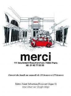 フランスの子供服ブランド『ボンポワン』の創設者が2009年よりスタートさせたパリのセレクトショップ「メルシー」。約1500平米という広大な店舗スペースと、メンズ、レディース、雑貨、ヴィンテージまで幅広いジャンルを包括した独自のセレクトで人気を博している。