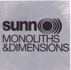Borisと親交の深いSUNN O)))の最新作 『Monoliths & Dimensions』。 2009年リリース。
