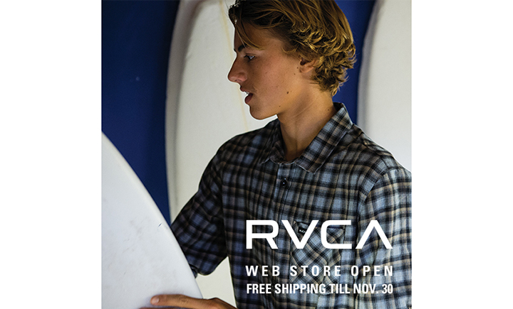 RVCA ONLINE STORE_SNS