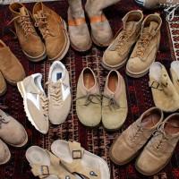 当日藤井氏が用意してくれた靴の数々。 詳細は次ページ以降で