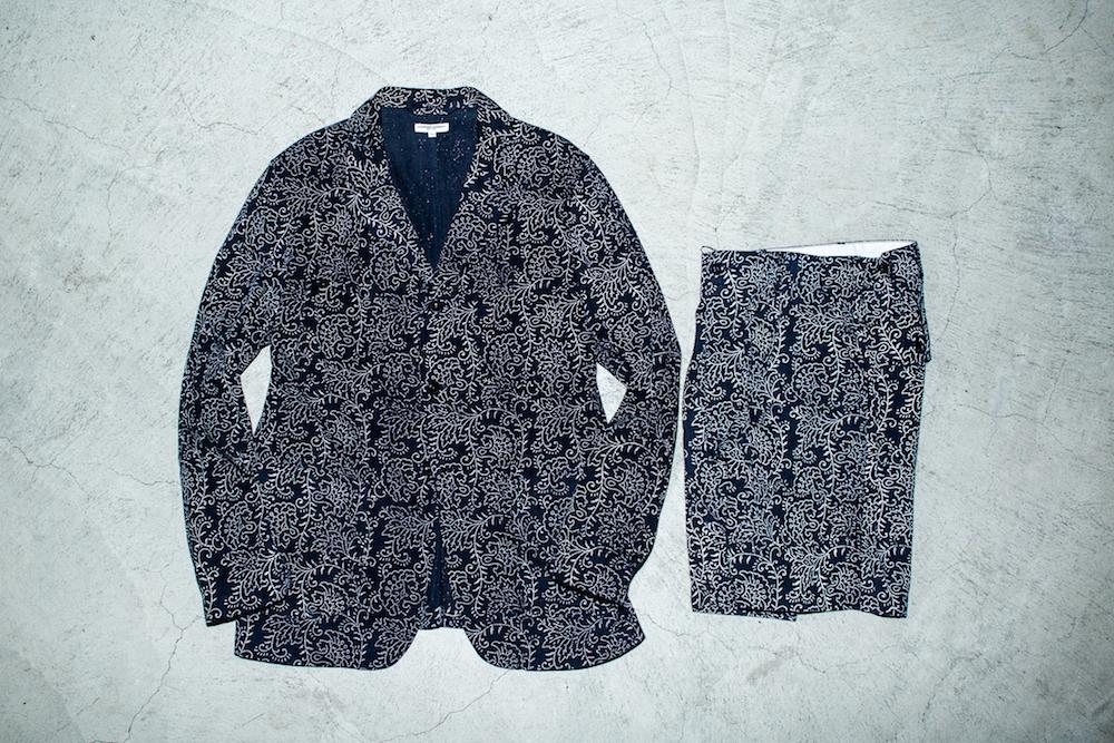 ジャケット 52,000円 + 税、ショーツ 31,000円 + 税