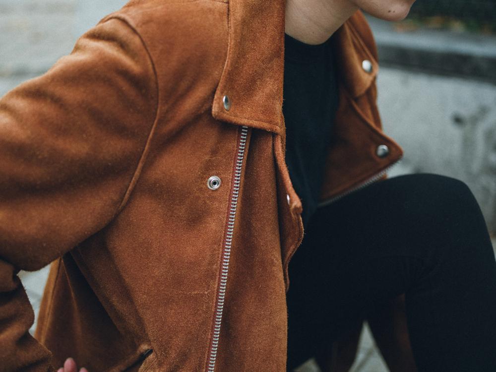 [LIKEWEEDS]のライダースジャケット 120,000円 + 税