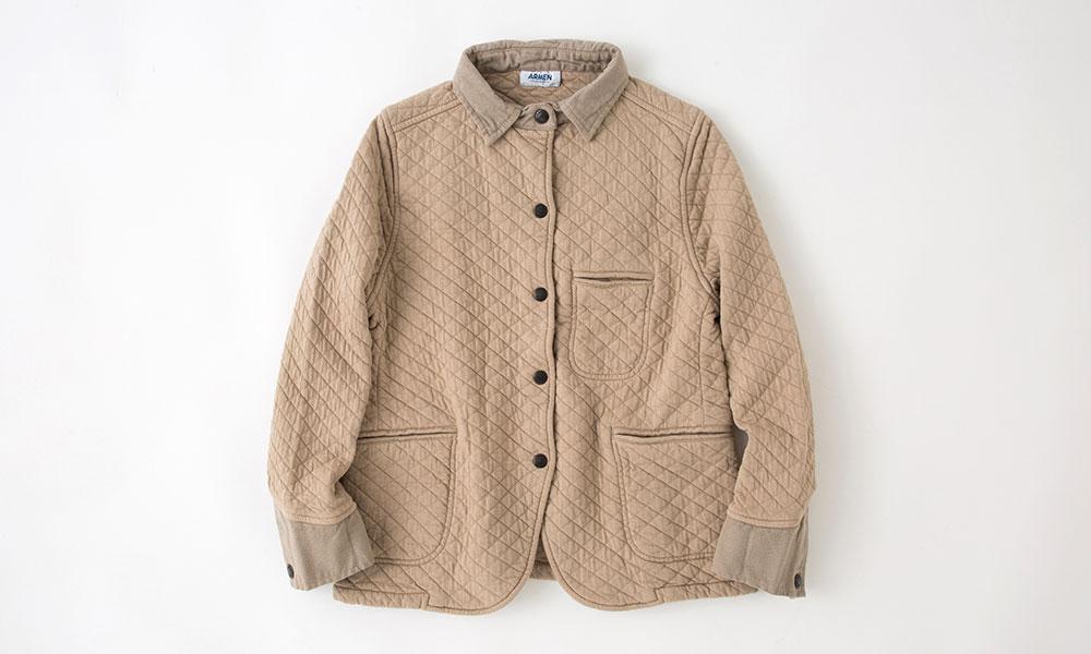 ARMEN シャツカラージャケット 25,000円 → 10,000円(3月2日まで 1週間限定60%OFF) → 商品の詳細を見る