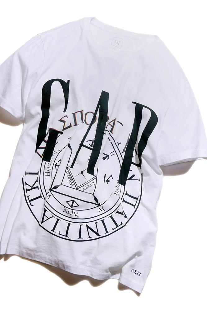 [Gap × Diaspora skateboards]の限定Tシャツが2月25日に発売。