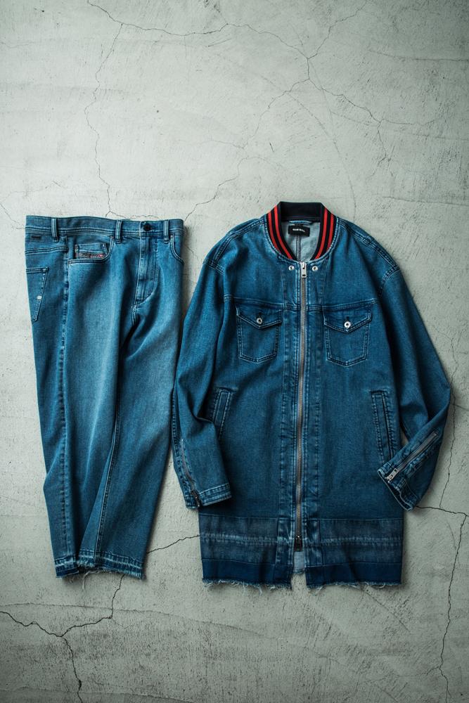 ジャケット:39,000円 + 税、パンツ:29,000円 + 税 →商品の詳細をチェックする
