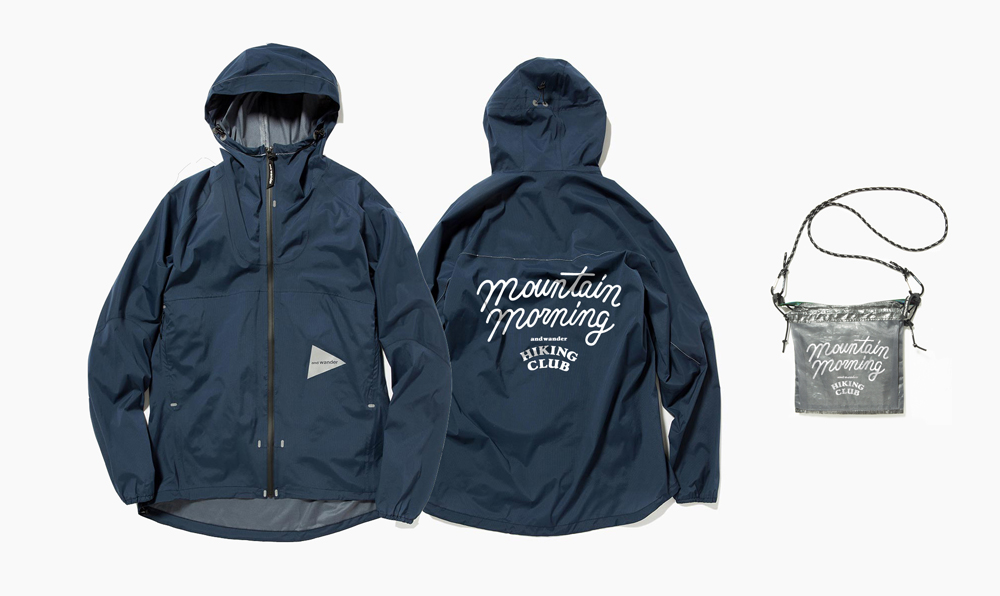 ジャケット 40,000円、サコッシュ 14,000円(ともに税抜価格)
