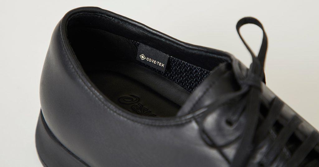 ASICSとUNITED ARROWSが共同開発した「GORE-TEXのドレススニーカー」